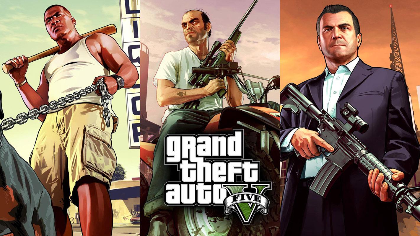 شخصيات لعبة جاتا GTA V
