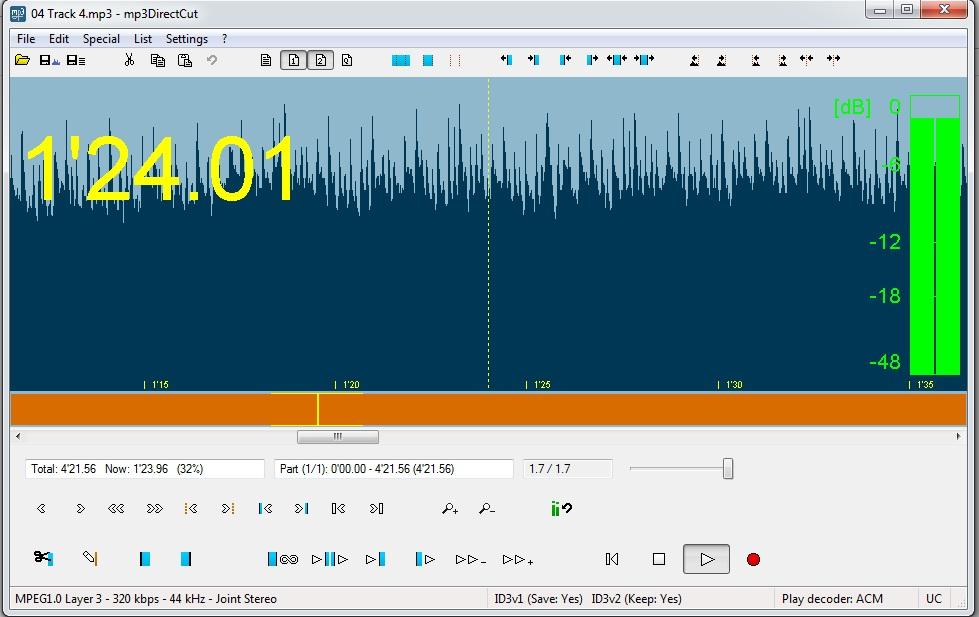 شرح برنامج قص الاغاني للكمبيوتر