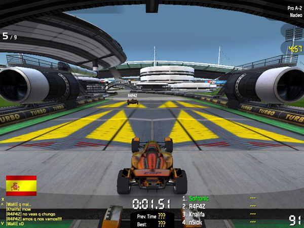 شرحلعبة TrackMania Nations للكمبيوتر