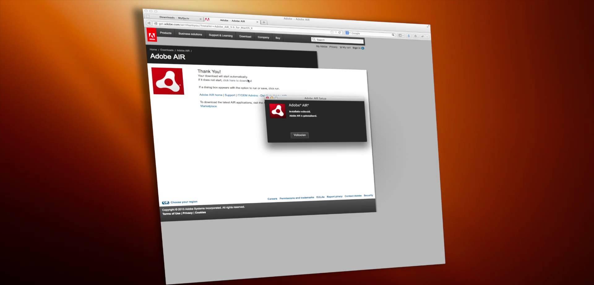 مميزات برنامج Adobe AIR