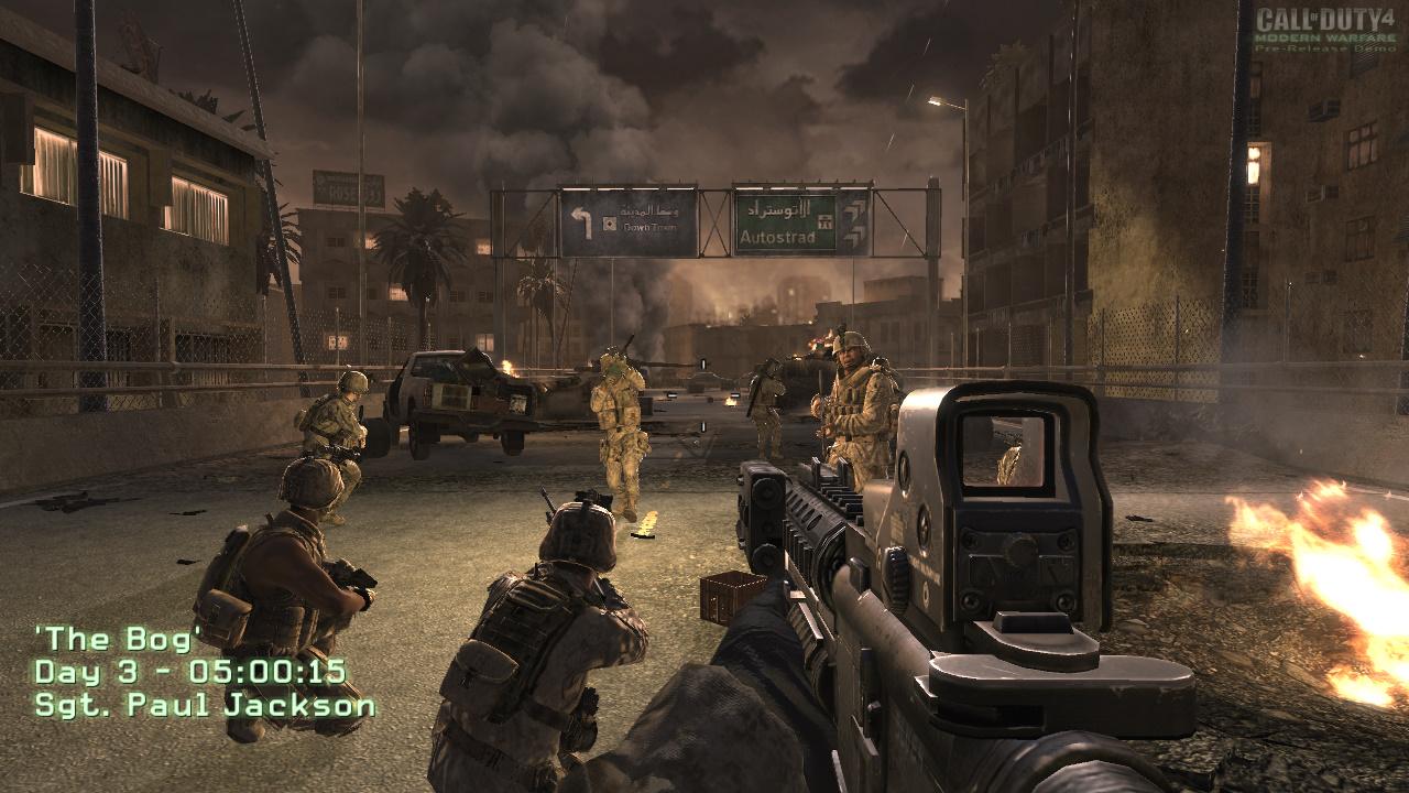 الاثارة والتشويق في لعبة ميدل اوف هونر Medal of Honor