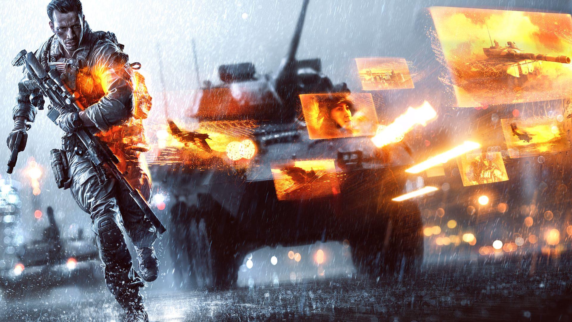 الاثارة والتشويق في لعبة Battlefield