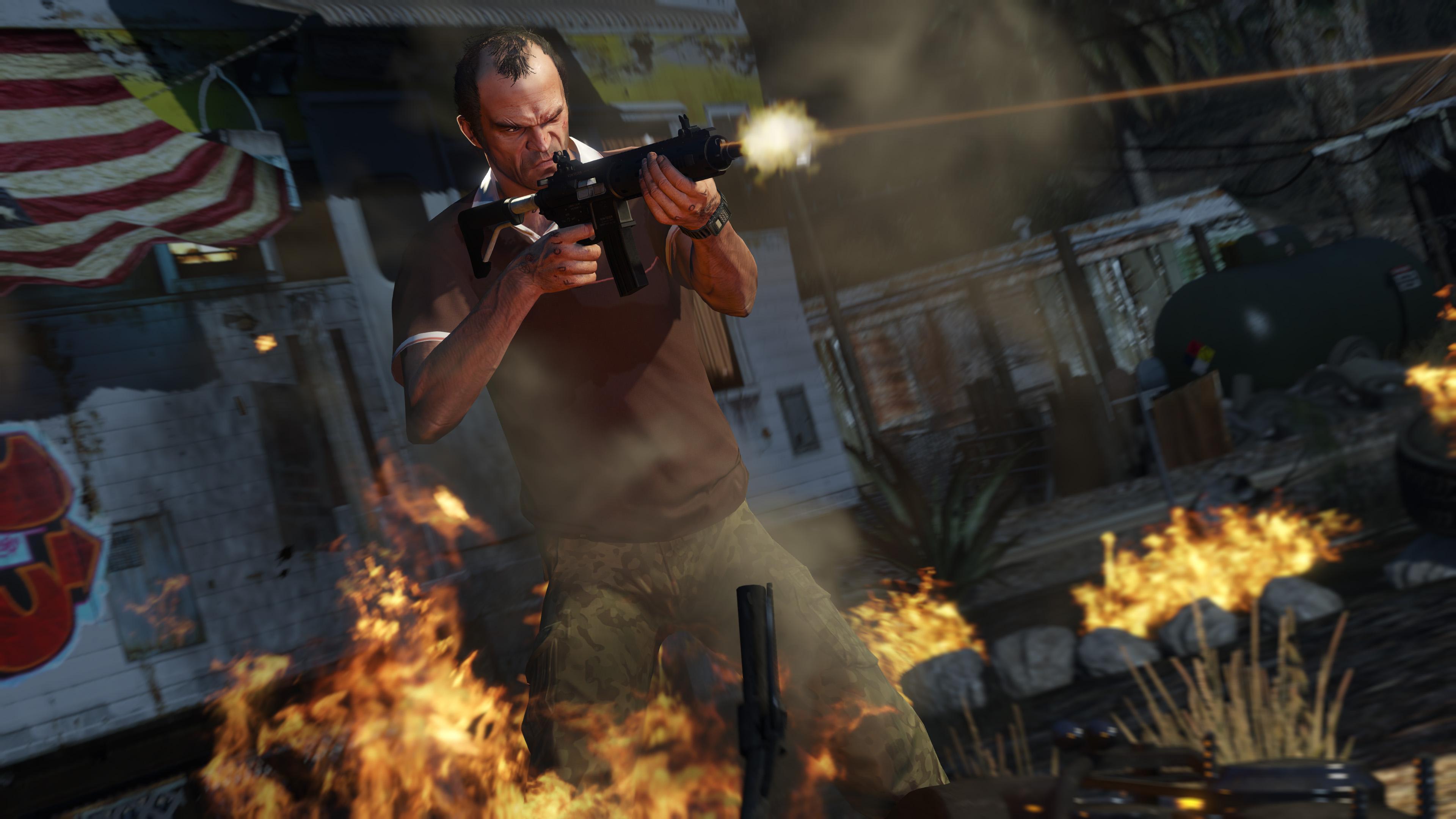 انماط اللعب في لعبة جاتا GTA V