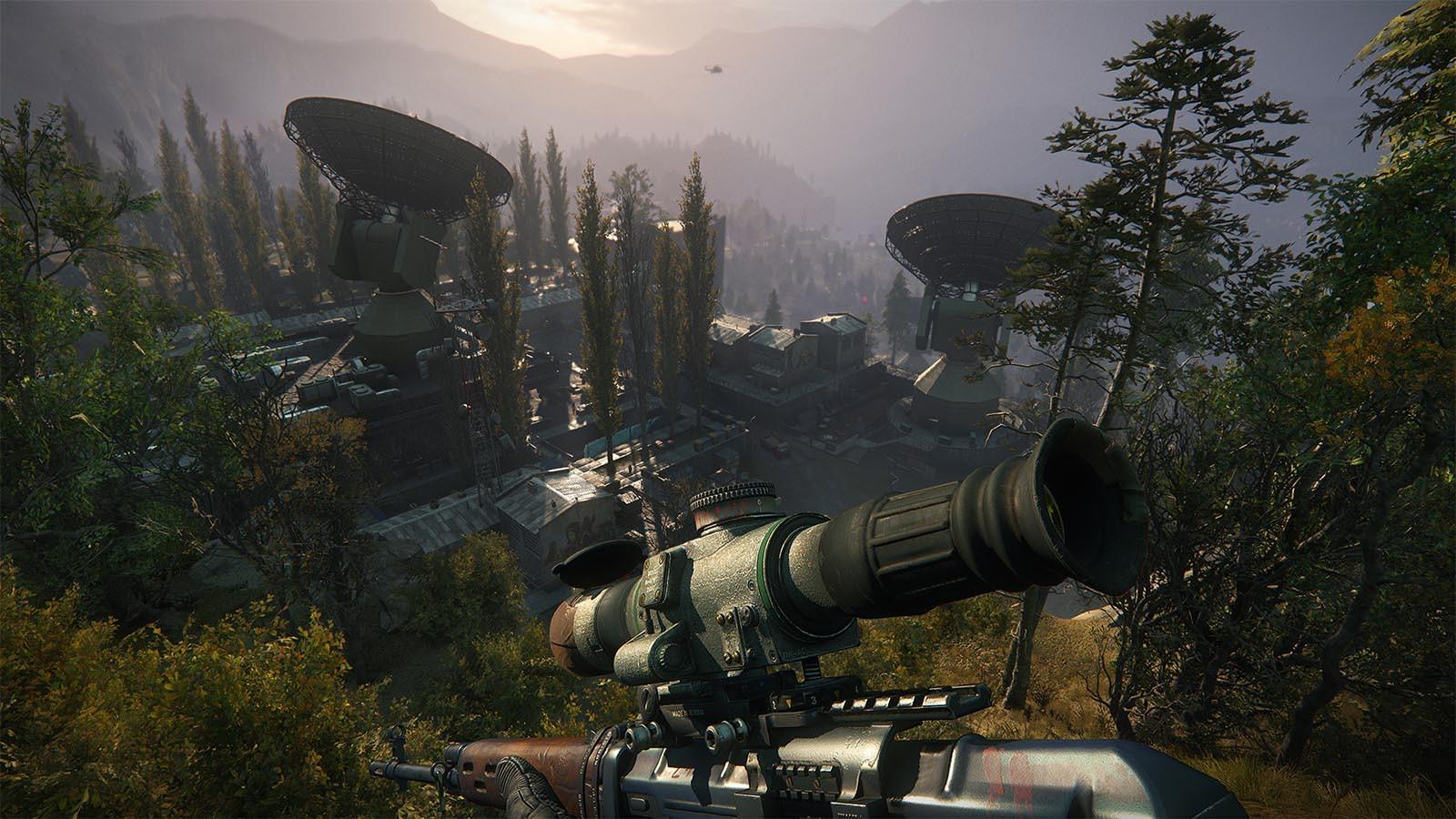 تعدد المراحل في لعبةSniper Ghost Warrior