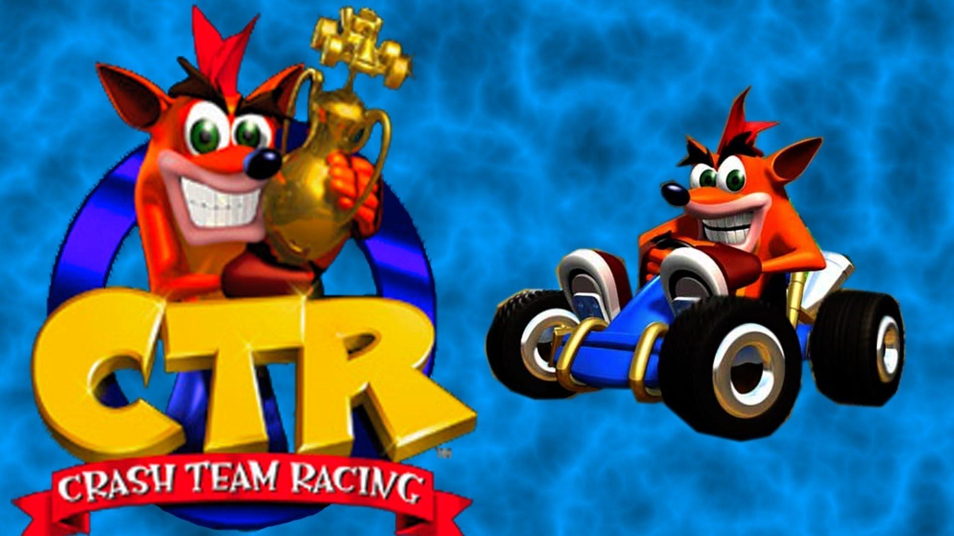 التوافق في لعبة كراش crash team racing للكمبيوتر