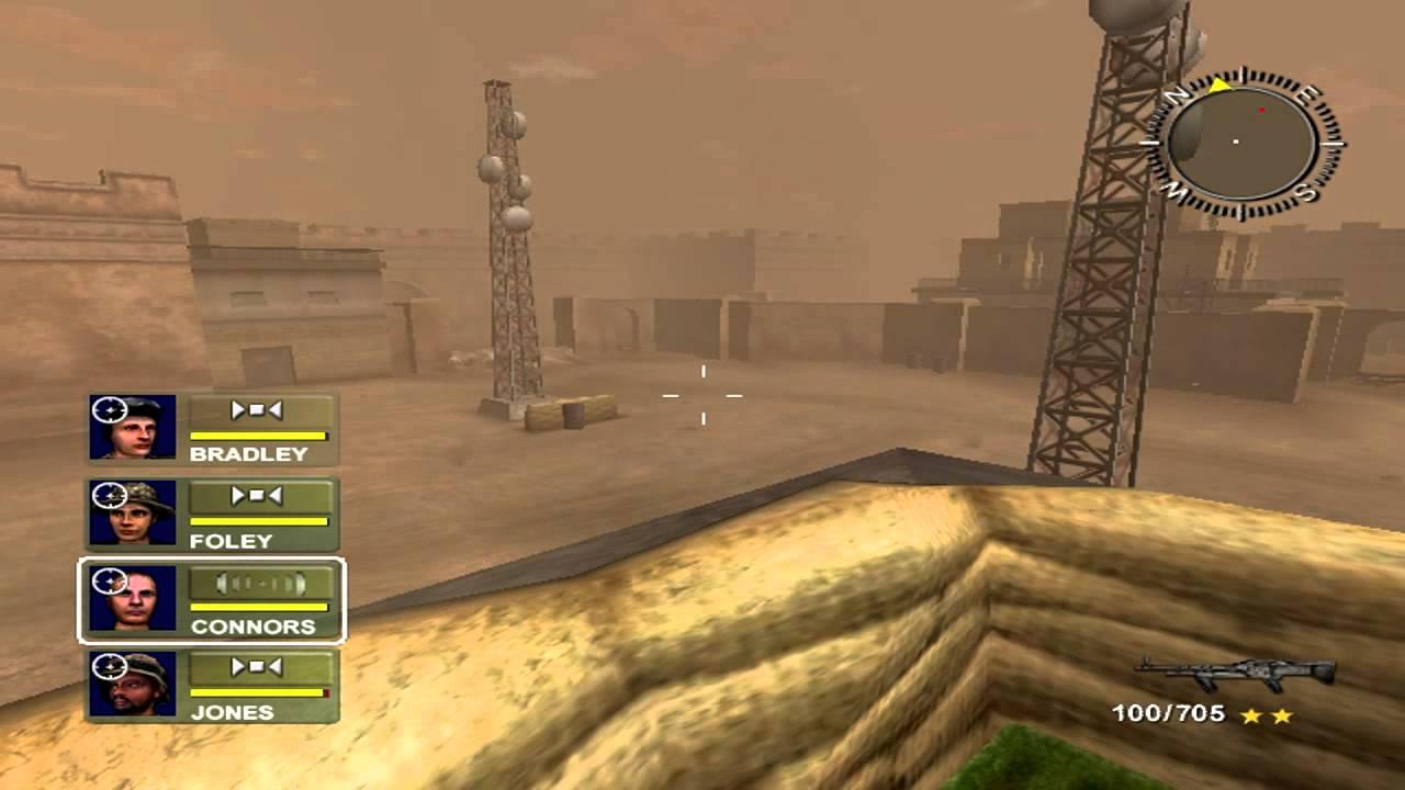المؤثرات الصوتية في لعبة عاصفة الصحراء 2 Desert Storm
