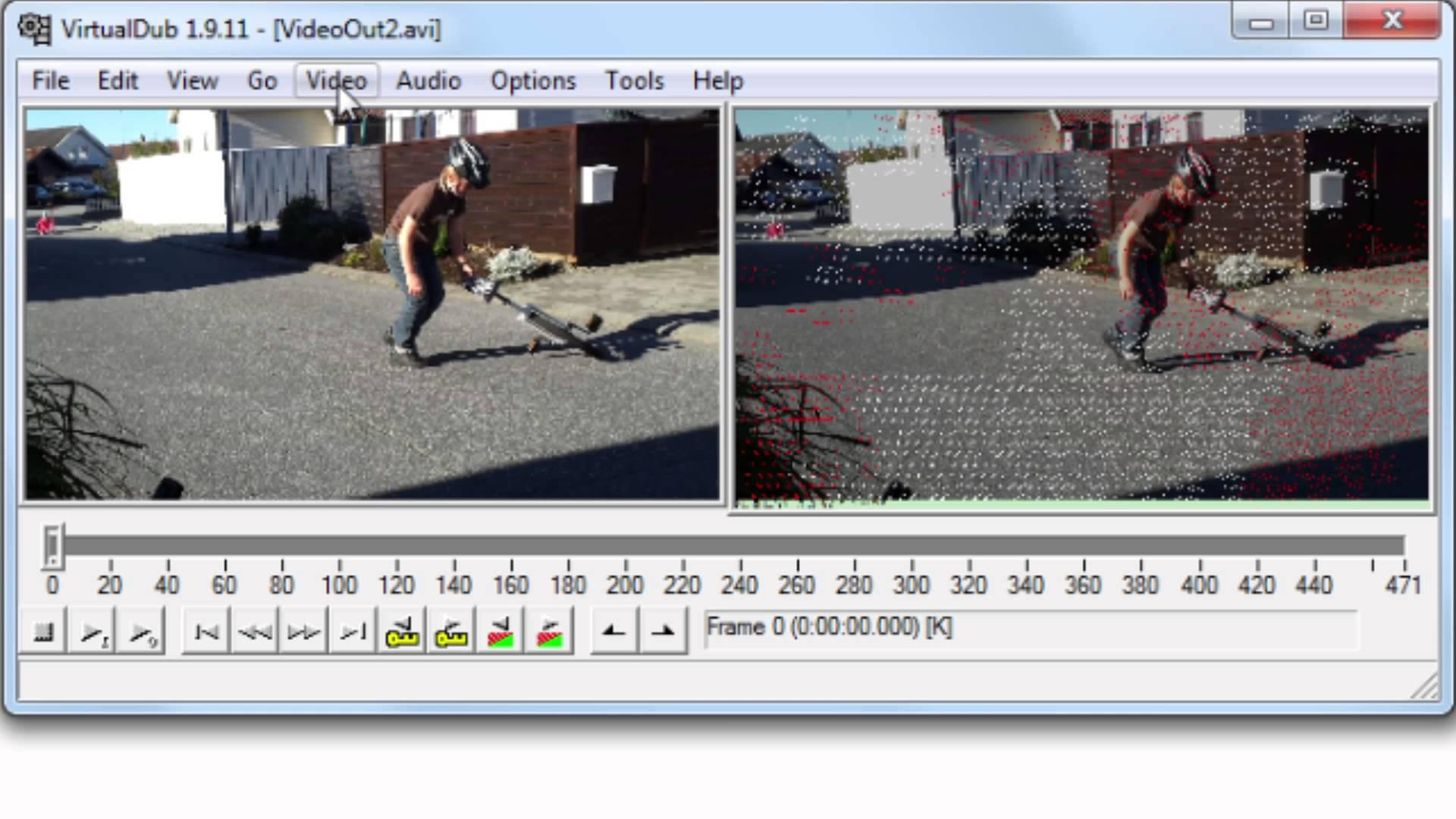 برنامج ازالة الكتابه من على الفيديو VirtualDub مع الشرح