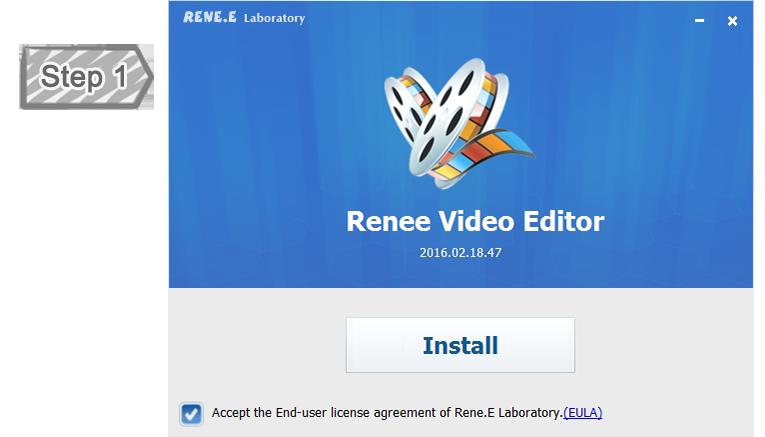 تقطيع الفيديو في برنامج قص الفيديو للكمبيوتر