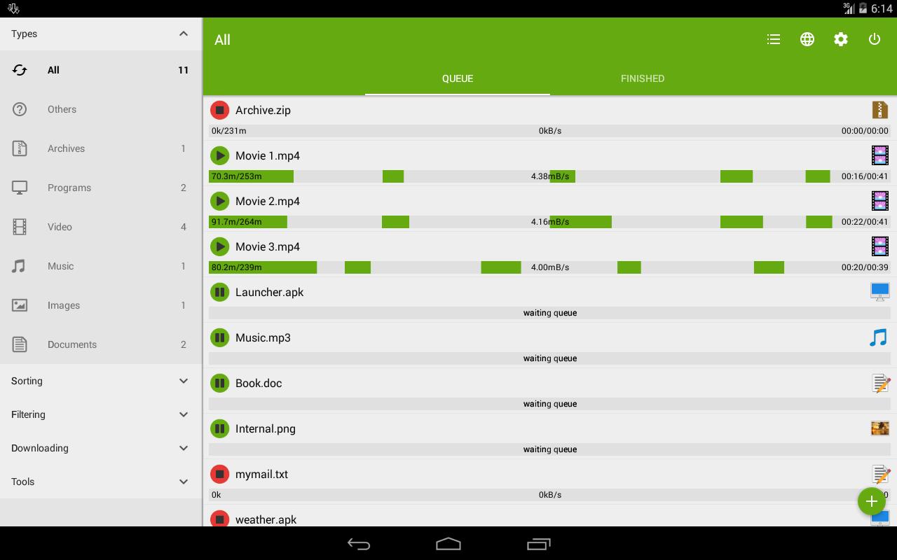 شرح برنامج Free Download Manager