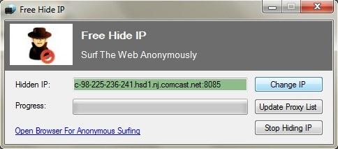 شرح برنامجFree Hide IP للكمبيوتر