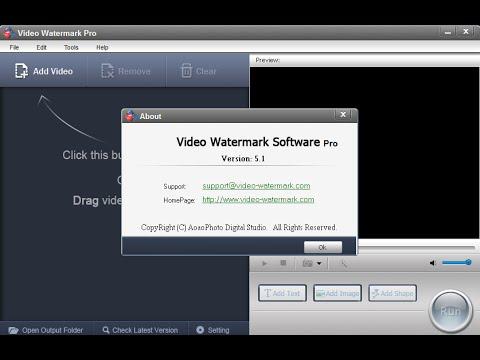 صورة من واجهة برنامج الكتابة على الفيديو