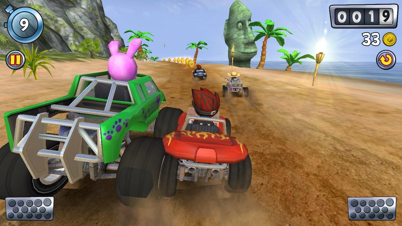 مستويات لعبة موتوسيكلات الشاطئ اخر اصدار
