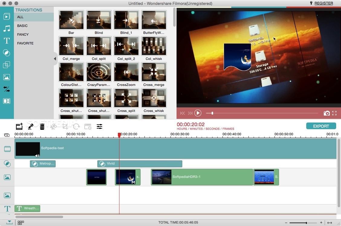 واجهة برنامج الكتابه على الفيديو للكمبيوتر