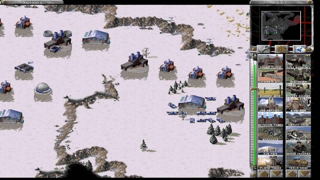 الجيوش في لعبة 1 Red Alert