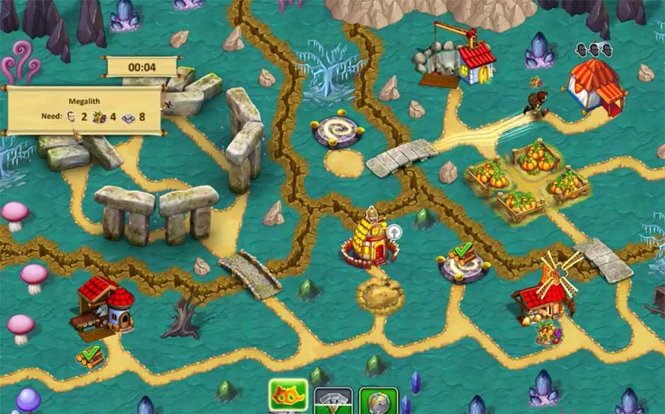 السهولة في لعبة Gnomes Garden 3