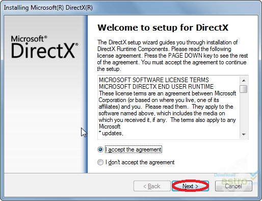 تحسين الالعاب في برنامجDirectX
