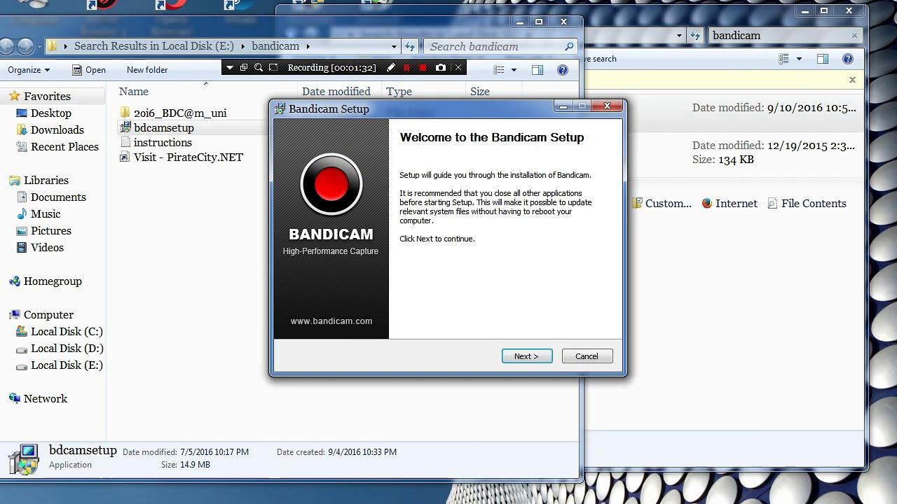 تحميل برنامج باندي كام للكمبيوتر مجانا