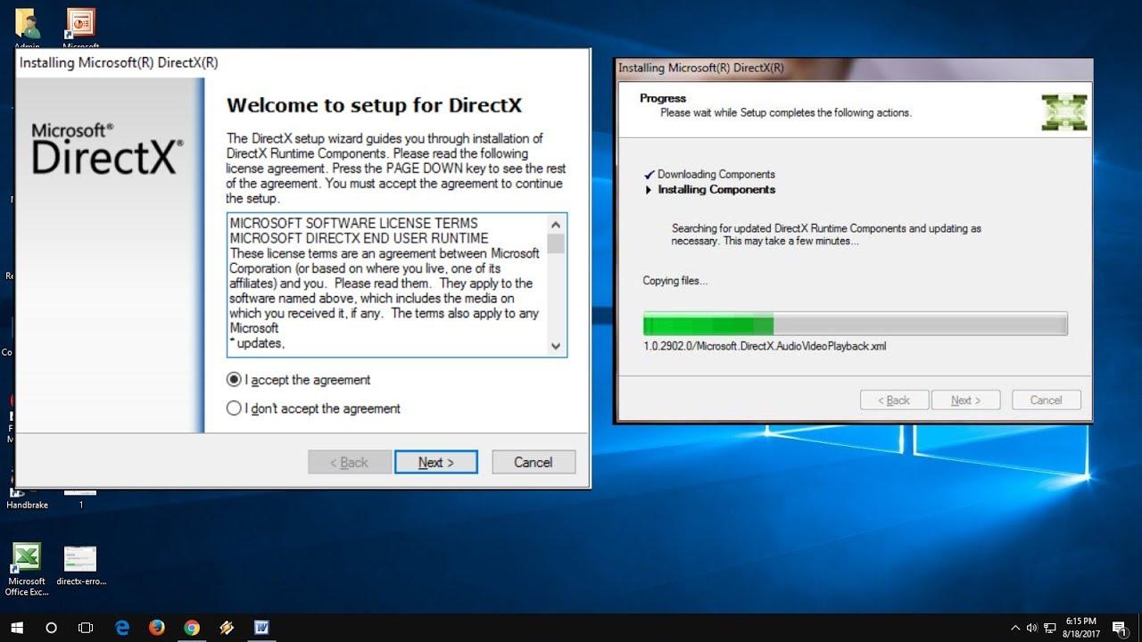 تحميل برنامج ديركتس كامل مجانا للكمبيوتر