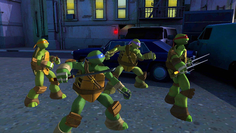 شخصيات لعبة سلاحف النينجا اخر اصدار