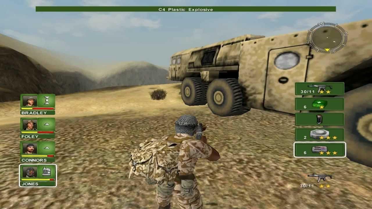 شرح لعبةعاصفة الصحراء 1 Desert Storm