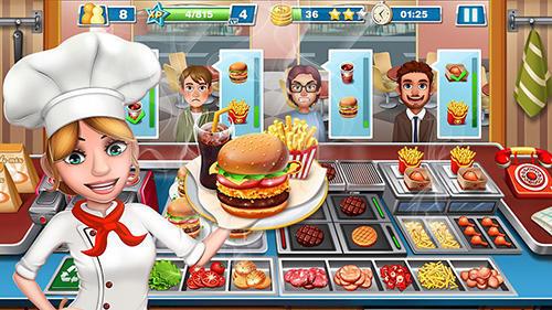 صورة من اعدادات لعبة الطباخ