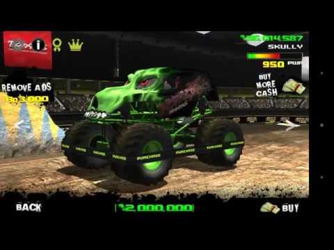 صورة من اعدادات لعبة تحطيم السيارات