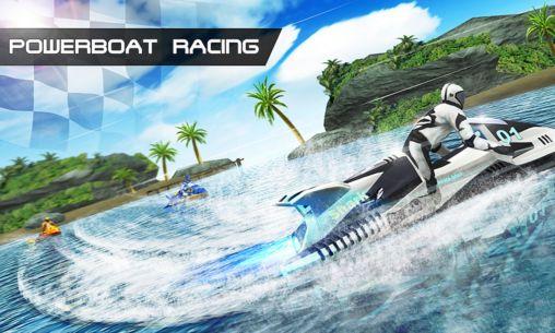 صورة من اعدادات لعبة سباق القوارب