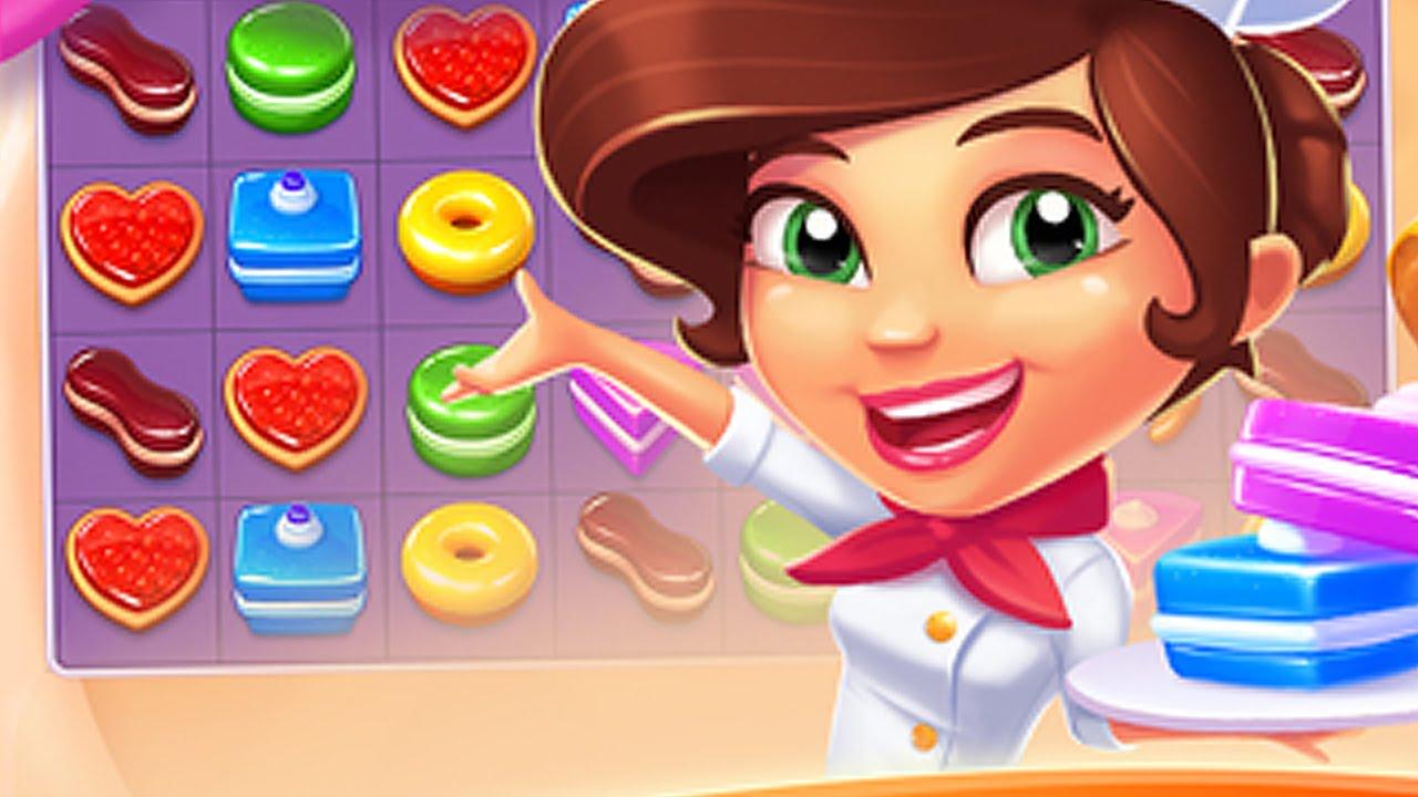 صورة من اعدادات لعبة متجر الحلويات