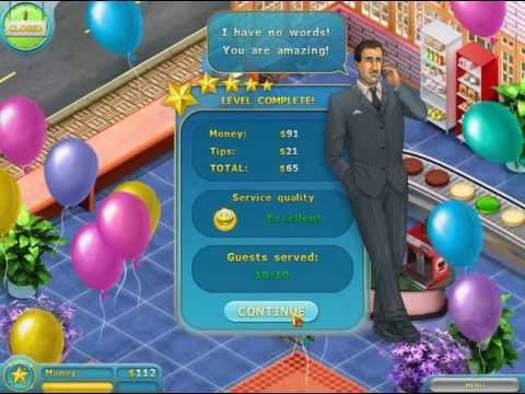صورة من لعبة متجر الكعك