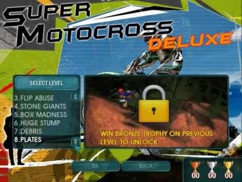 صورة من واجهة لعبة الموتوسكلات