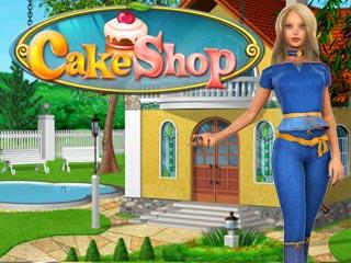 صورة من واجهة لعبة متجر الكعك