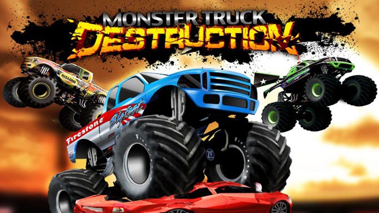 تحطيم السيارات Monster Truck Destruction