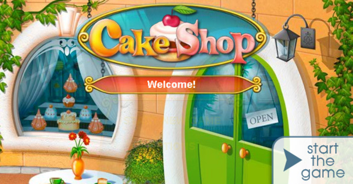 لعبة cake shop