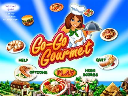 لعبة go go gourmet