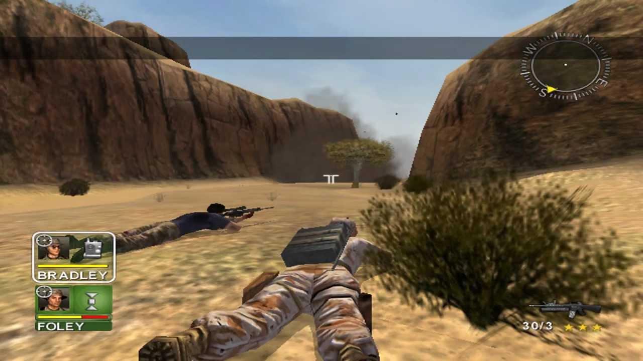 نقاء الصوت والصورة في لعبة Desert Storm 1