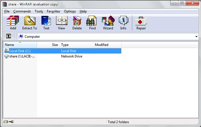 الثيمات المختلفة في برنامج وينرار WinRAR