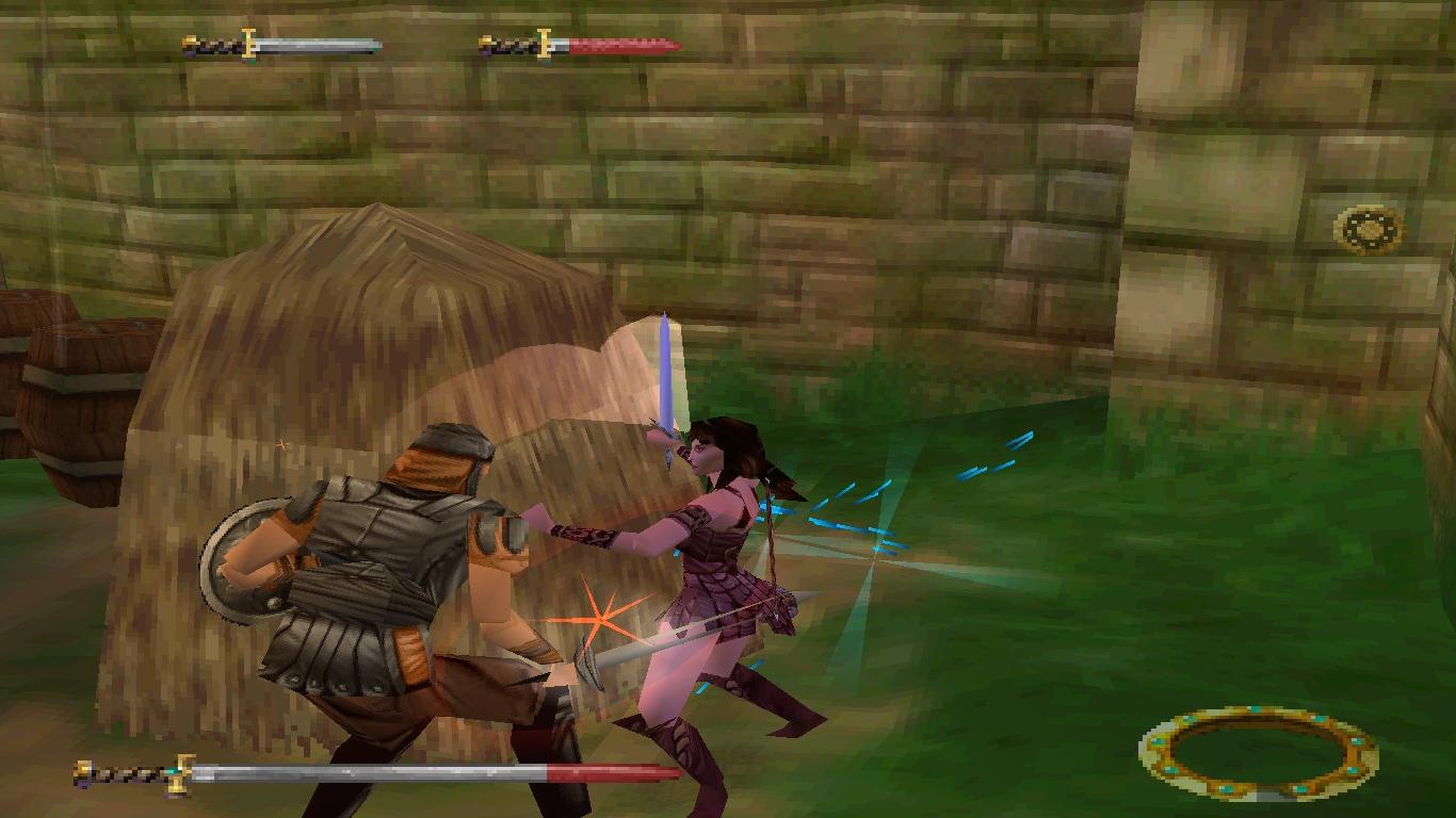 المستويات المتعددة في لعبة Xena Princess Warrior