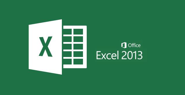 برنامج الاكسل في برنامج اوفيس 2013 Microsoft Office