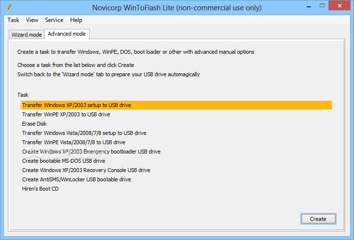 تحميل برنامج نسخ الويندوز على فلاشه