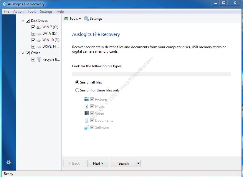 تحميل برنامجAuslogics File Recovery
