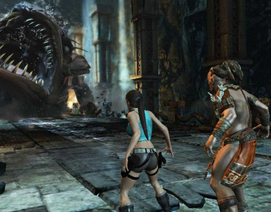 سهولة استخدام لعبة لارا كروفت Lara croft للكمبيوتر