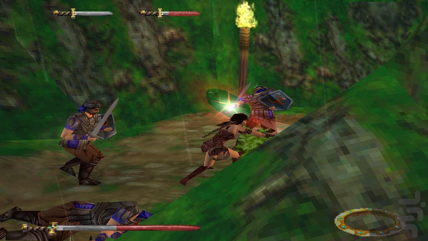 صغر حجم لعبة زينا Xena Princess Warrior
