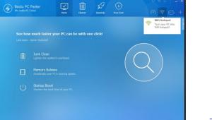 صورة من ادوات برنامج Baidu WiFi Hotspot