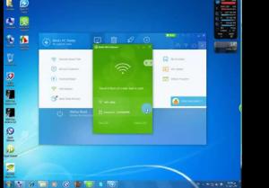 صورة من طريقة استخدام برنامج Baidu WiFi Hotspot
