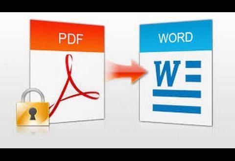 تحميل برنامج تحويل Pdf الى Word 2020 للكمبيوتر برابط مباشر من ميديا فاير