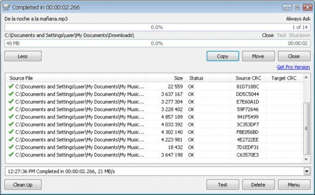 تضمين برنامج TeraCopy في الويندوز