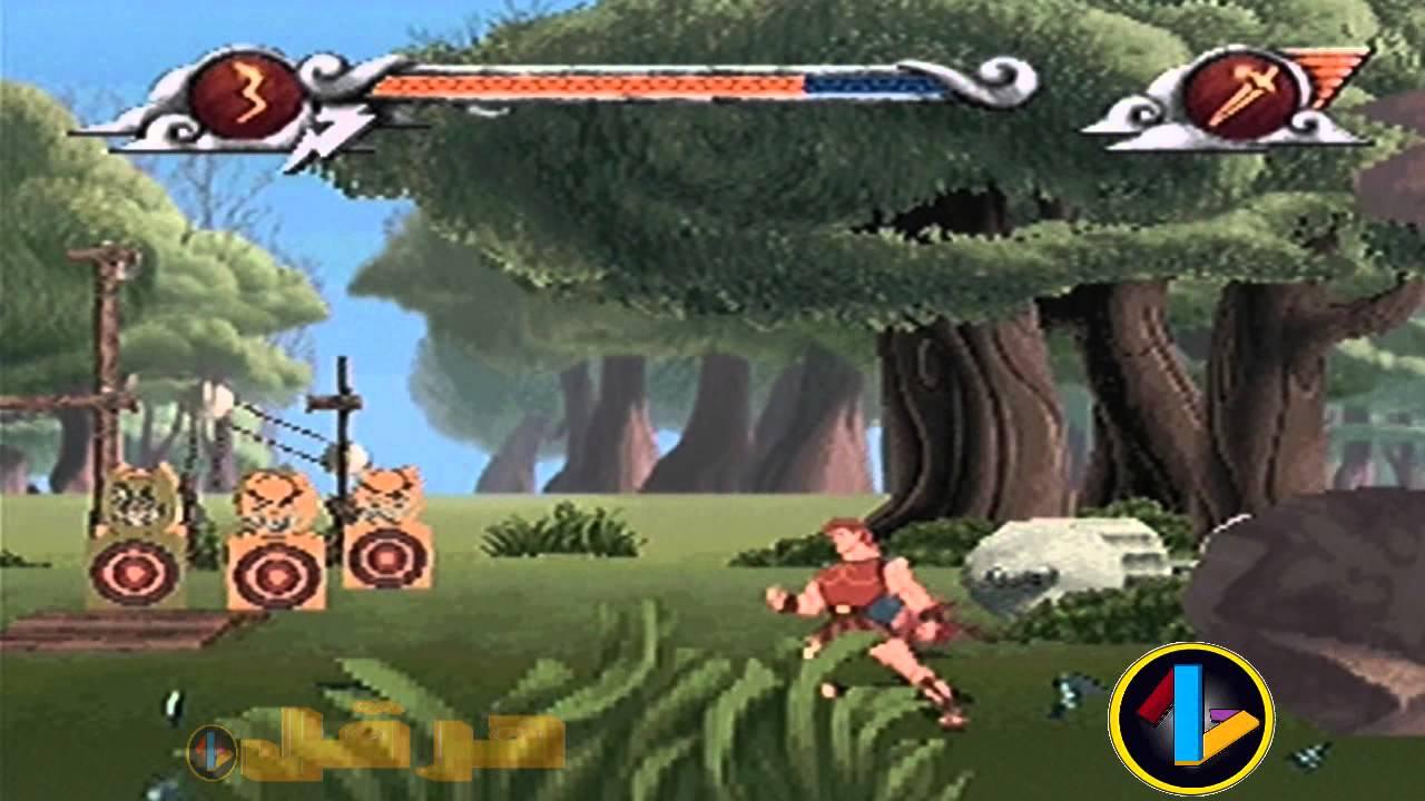 تعدد الاسلحة في لعبة Herculesللكمبيوتر