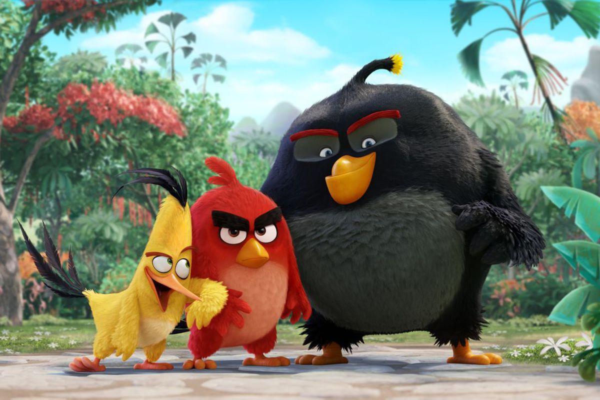 تعدد المراحل في Angry Birds