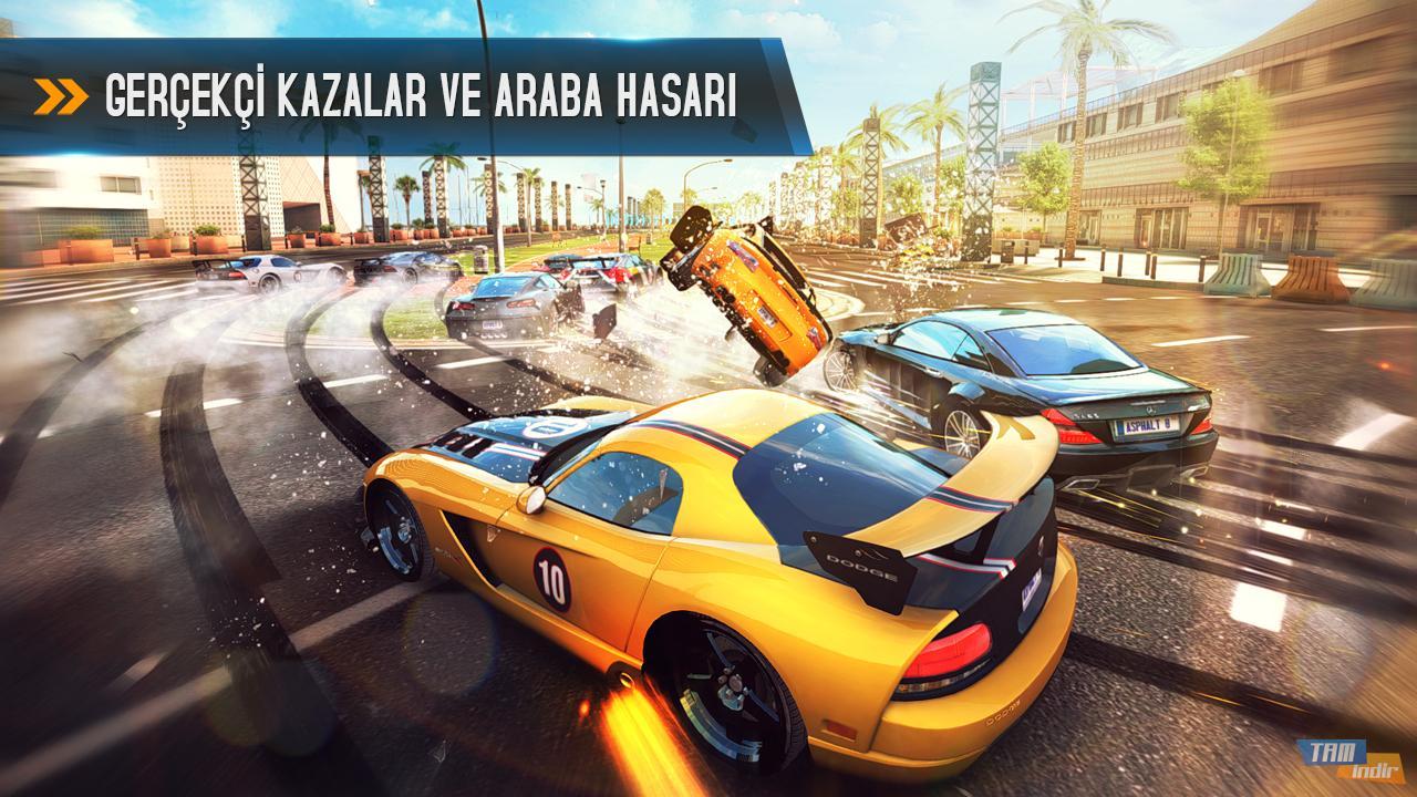 سلسلة لعبة سباقات السيارات Asphalt 8