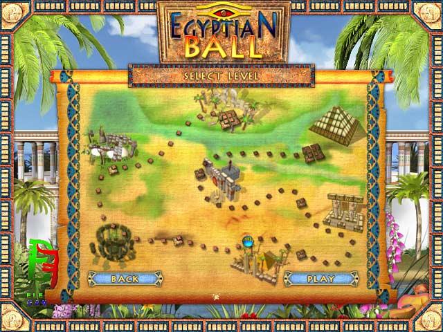سهولة egyptian ball للكمبيوتر